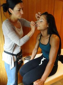 MakeUp Artist mit beim Bewerb